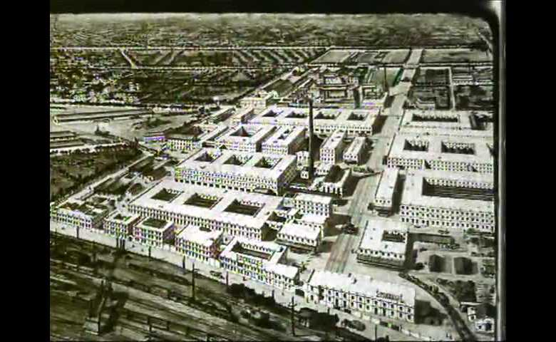 Visita del Re Vittorio Emanuele III alla Bicocca