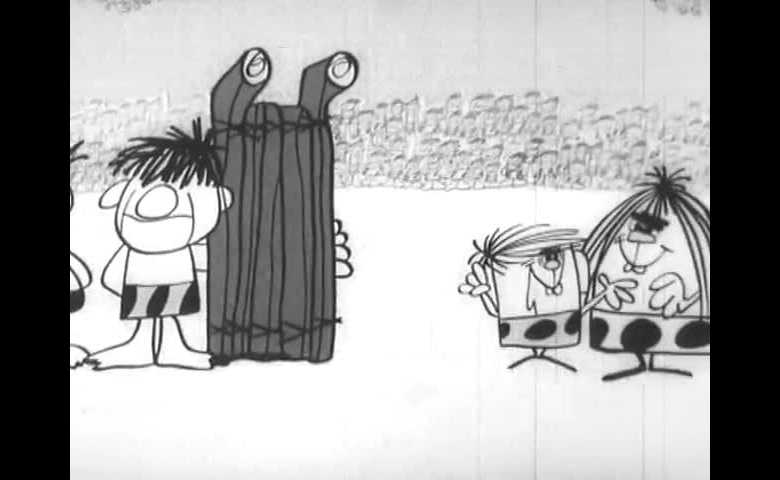 Mammut, Babbut, Figliut alle Olimpiadi - Bob