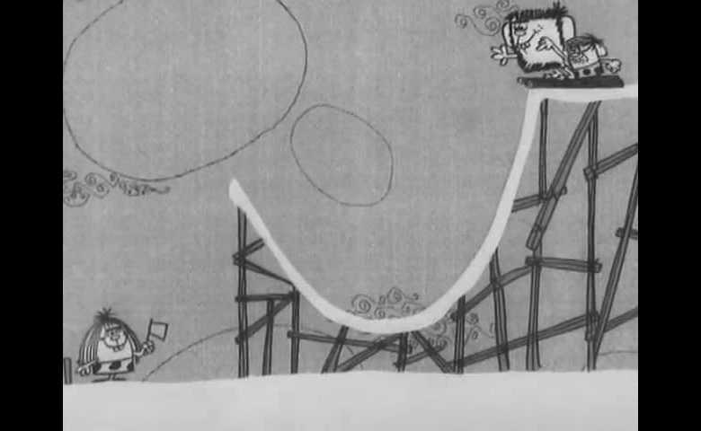 Mammut, Babbut, Figliut alle Olimpiadi - salto dal trampolino gigante