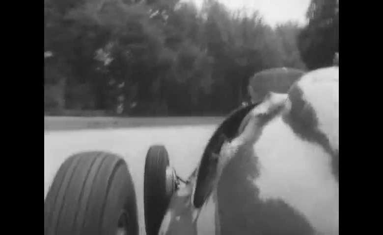 J. M. Fangio ricorda i giri di prova