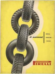 Bozzetto per pubblicità dei pneumatici Stelvio Cinturato e Inverno Pirelli