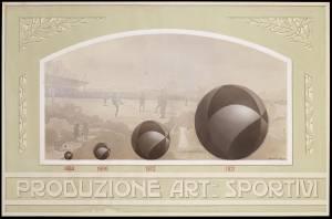 Cartello per l'allestimento del Museo Storico delle Industrie Pirelli