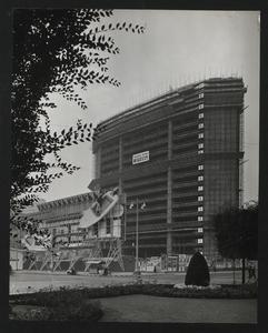 Costruzione Centro Pirelli - ottobre 1957 - foto Camera Color Milano