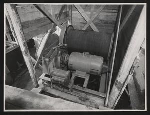 Costruzione Centro Pirelli - La centrale per la produzione del calcestruzzo - 1957 -  foto Publifoto