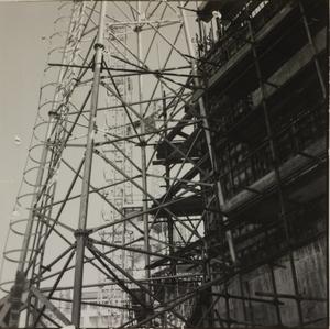 Costruzione Centro Pirelli - 25 febbraio 1957 - foto Calcagni