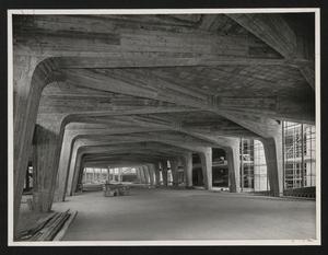 Costruzione Centro Pirelli - 25 giugno 1957 - foto Publifoto