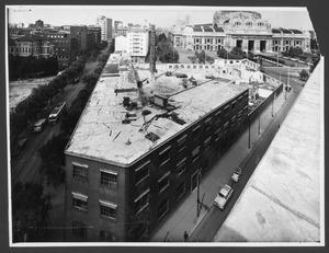 """La demolizione della """"Brusada"""" - maggio 1955"""