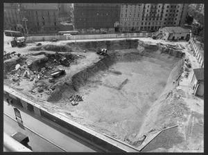 """La demolizione della """"Brusada"""" - settembre 1955 - foto Ballo"""