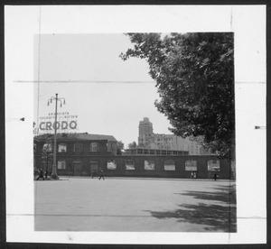 """La demolizione della """"Brusada"""" - giugno 1955 - foto Calcagni"""