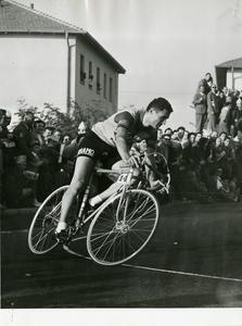 Il corridore ciclista Giuseppe Minardi