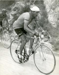 Gino Bartali al Giro d'Italia del 1950
