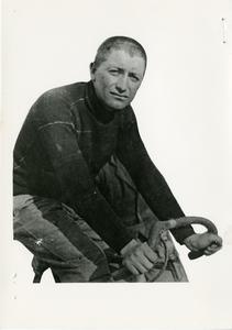 Il corridore ciclista Giovanni Gerbi nel 1934