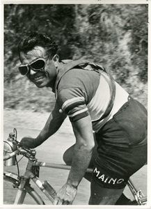 Il corridore ciclista Learco Guerra nel 1932