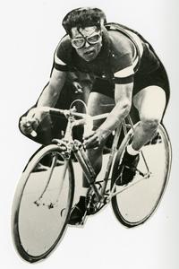 Il corridore ciclista Learco Guerra