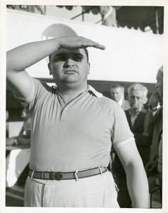 Il pilota José Froilán González nel 1954