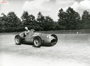 Corridori al Gran Premio dell'Autodromo di Monza del 1952