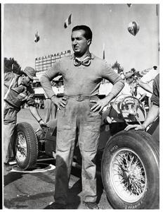 Il pilota Alberto Ascari